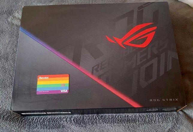 Asus ROG Strix G15 I7-10870H/RTX 2060 6GB/16 GB RAM/512 GB SSD Nowy PL