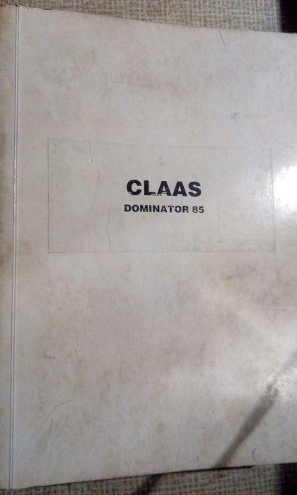 Katalog dominator claas 85 Byczyna - image 1