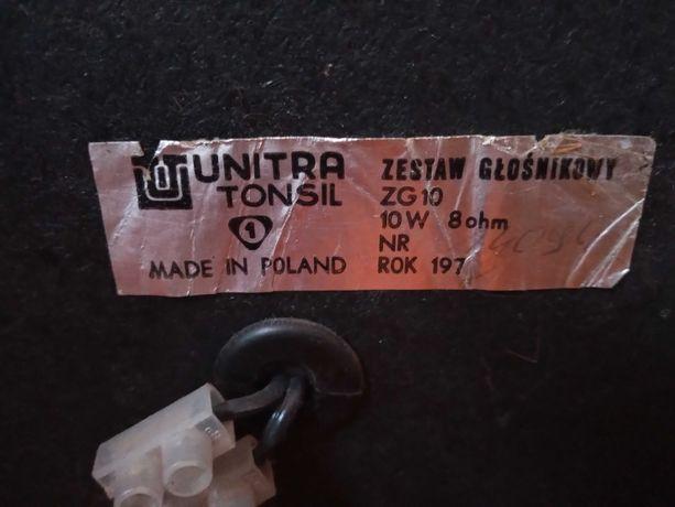 Zestaw głośnikowy zg 10 Tonsil Unitra