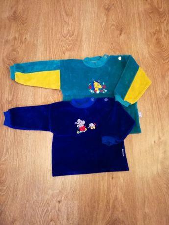 Bluzeczki, 2 szt, rozmiar 74 i 86