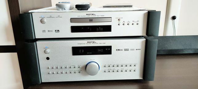Amplituner ROTEL RSX1056,CD DVD ROTEL RDV1050e. Komplet.