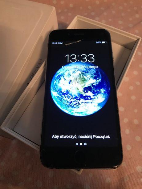 iPhone 6 16gb space gray bez blokad stan bdb
