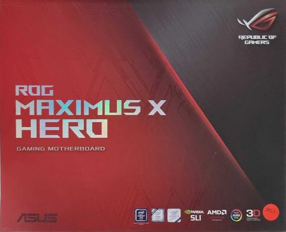 Motherboard Asus ROG Maximus X Hero + CPU I7 8700