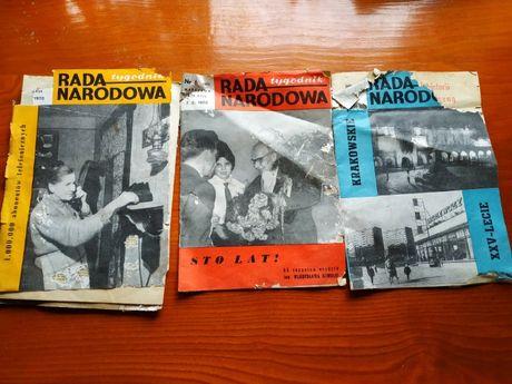 Sprzedam czasopismo Rada Narodu rok 1970 stara gazeta antyk zabytek