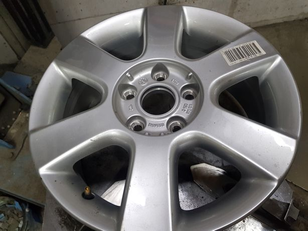 Felga pojedynka Aluminiowa Volkswagen Golf V R16 5x112 ET50- 6.5J-nowa