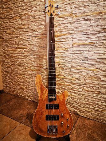 Gitara basowa elektryczna wzmacicz, efekty i akcesoria. Stan Idealny