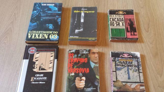 lote de 6 livros