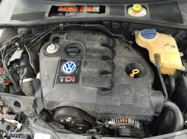 Motor Volkswagen Passat B5 3B 1.9TDi 130cv AVF AWX Caixa de Velocidades Automatica - Motor de Arranque  - Alternador - compressor Arcondicionado - Bomba Direção