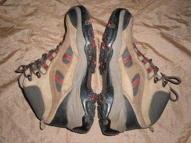 Meindl Goretex треккинговые ботинки кроссовки кожаные размер 41-42