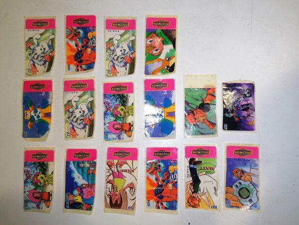 Digimon autocolantes /vintage