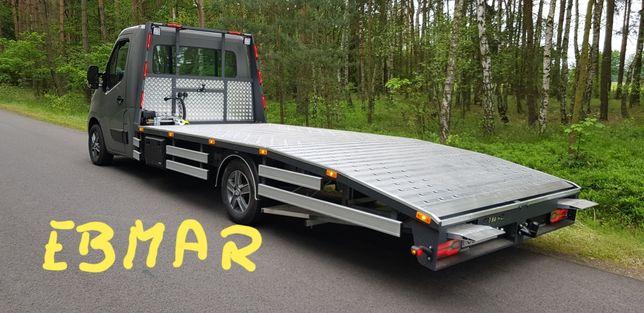 Autolaweta Zabudowa Najazd Renault Master  Ebmar
