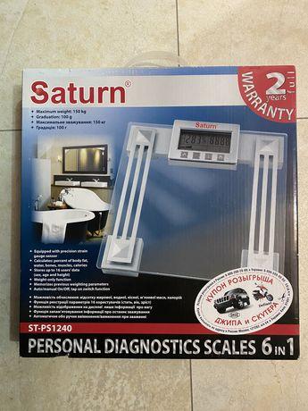 Продам весы напольные элекронные Saturn
