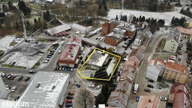 Teren inwestycyjny w centrum Bartoszyc.