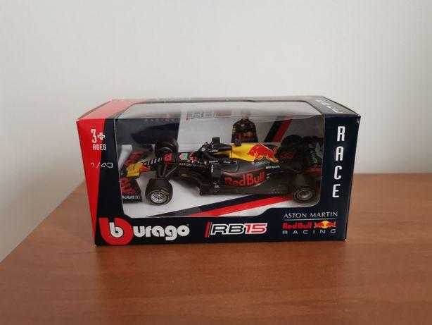 Formuła 1 F1 Red Bull RB15 Verstappen Model Bburago Nowy!
