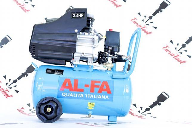 Компрессор Al-fa ALC24 24Л (2.5 кВт 210 л/м) Польша!