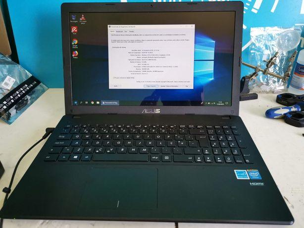 Portátil Asus f551m como novo 2x bateria nova DISCO SSD 500 GB