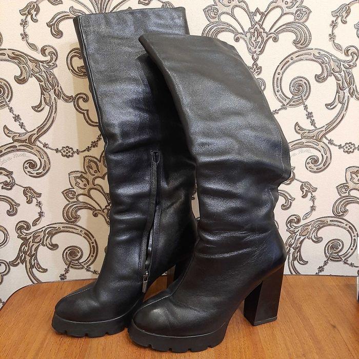 Сапоги зимние кожаные Запорожье - изображение 1