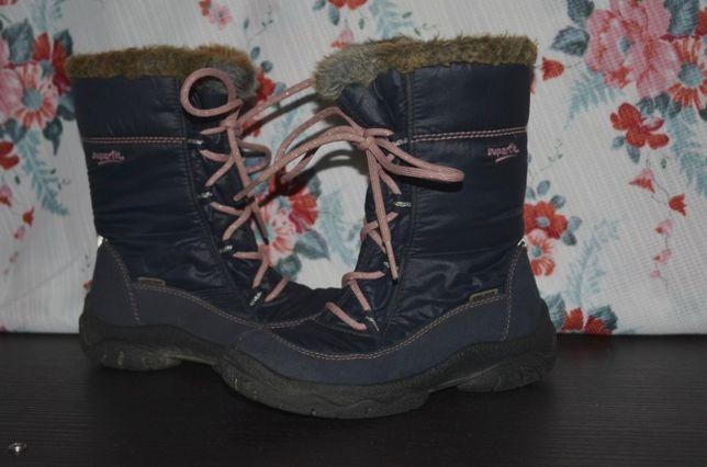 Ботинки SuperFit Gore-Tex 28 размер стелька 18,5 см темно синие суперф
