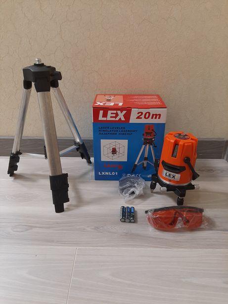 Лазерный уровень (нивелир) LEX LXNL01(на треноге)