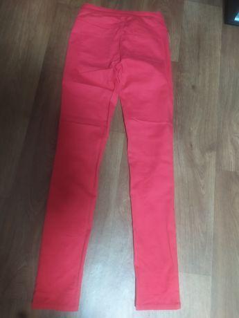 Червоні джинси стрейч