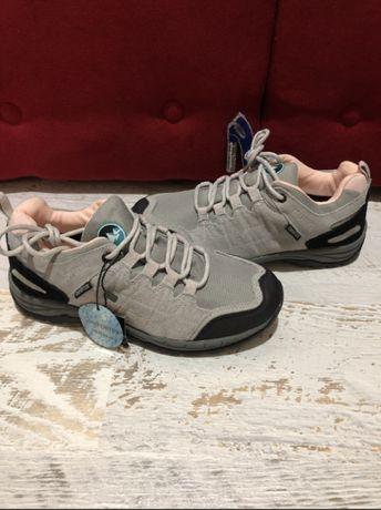 Кросівки кроссовки кросовки Polarino ComforTex термо натур замша 25,5