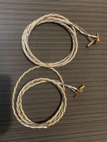 Cabos de coluna Straightwire Waveguide 4