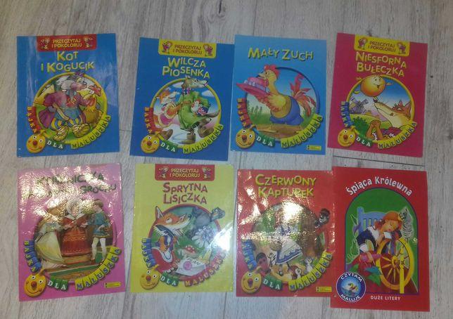 Zestaw znanych bajek dla maluszków 15 książeczek