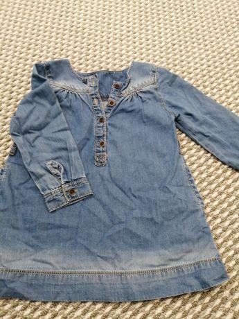 Tunika  sukienka Zara baby r92