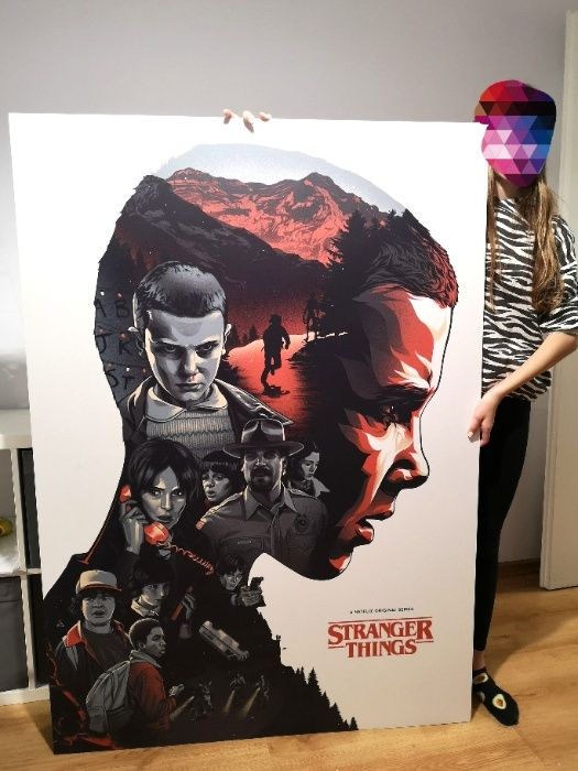 Stranger Things plakat/grafika duży na pcv Kraków - image 1