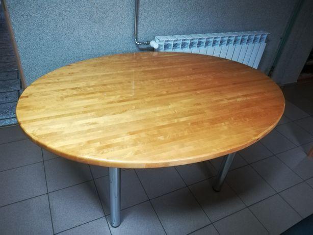 Stół brzozowy lakierowany