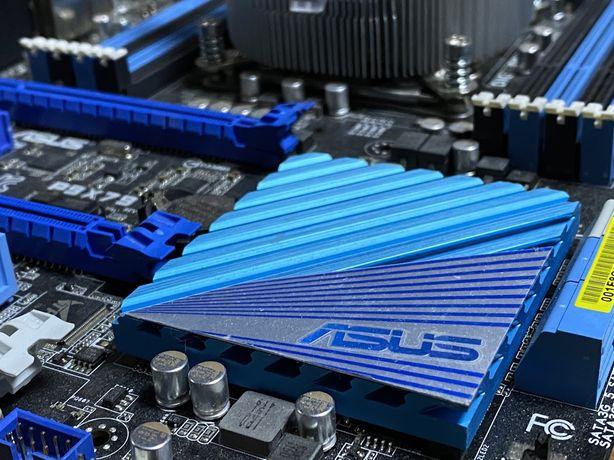 игровая /серверная/ майнинг мать Asus P9X79 DDR3 LGA2011 ! Магазин!