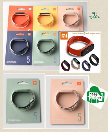 Bracelete Xiaomi Mi Band 3 / 4 / 5 / 6 -Original-Novo-C/Cx.-24h