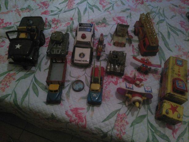 Lote 13 Brinquedos Chapa Antigos