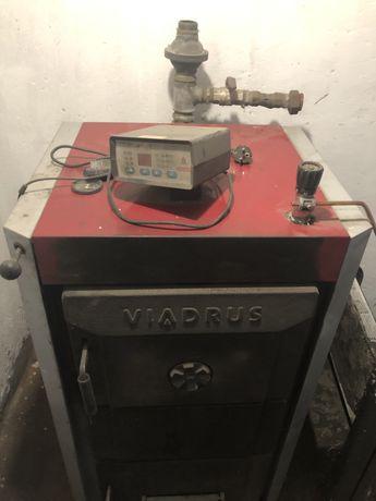 Viadrus u26, części ze sprawnego pieca, 22,5 kW, gratis pompa