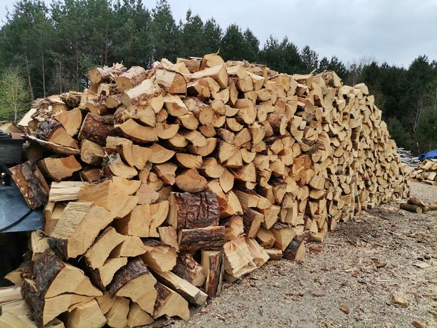 Drewno opałowe z transportem