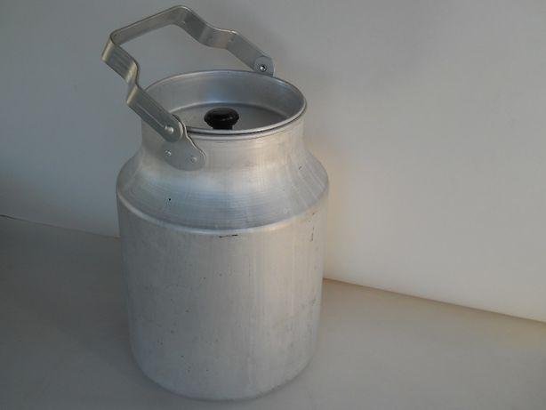 Алюминиевый бидон СССР новый 9 литров
