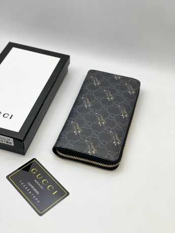 Кошелек бумажник купюрник органайзер клатч портмоне Гуччи Gucci k271