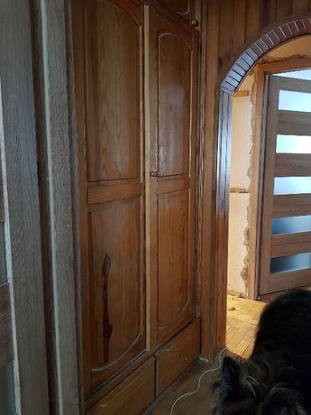 Szafa drewniana przesuwana (wnękowa, do zabudowy)