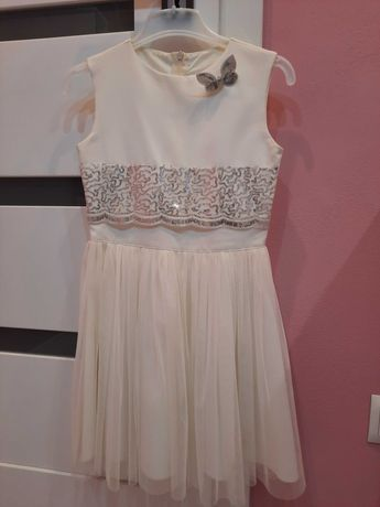 Sukienka i bolerko rozmiar 140 cm
