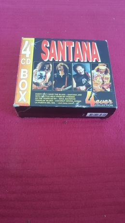 CDs Santana 4CDs BOX