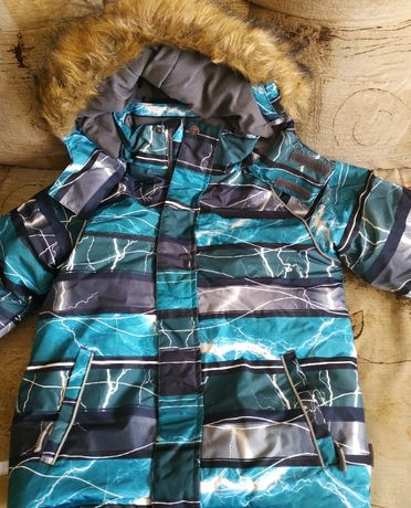 термо-костюм, куртка (комплект) зима 128р