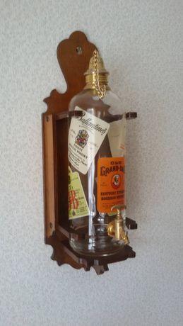 Пляшка  Декоративна Графін Бутылка Декоративная Декор Винтаж Латунь