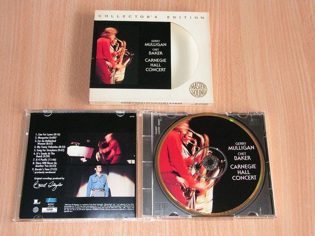 Gerry Mulligan&Chet Baker-Carnegie Hall Concert ZK-64769 slipcase GOLD