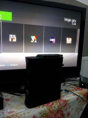 super konsola Xbox 360 RGH dysk 120 gb fhat polecam