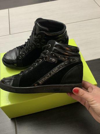 Sneakersy buty Versace