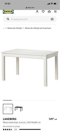 Mesa de cozinha extensivel IKEA