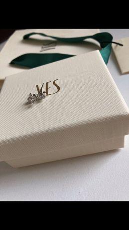 Kolczyki srebrne Yes z cyrkonią