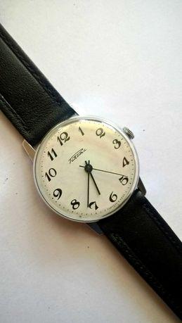 Biała klasyczna Rakieta zegarek mechaniczny na chodzie