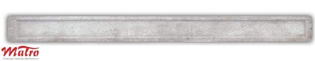 Podmurówka ogrodzenie z siatki betonowe wzór cegła lub gładka 20x246