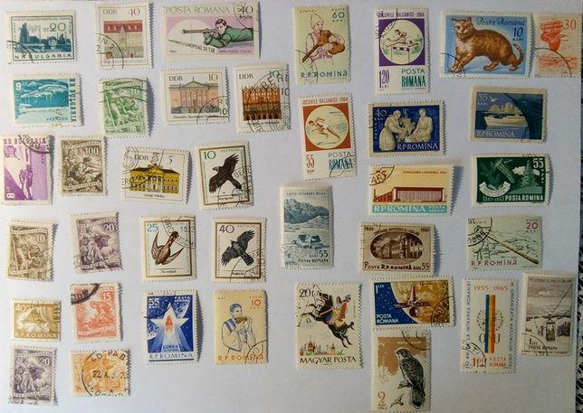 Komplet znaczków pocztowych VII - 37 szt.